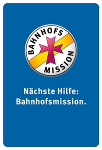 Logo: Bahnhofsmission