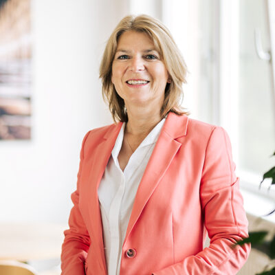 Foto: Frau Kahn, Gschäftsführerin Diakonie Münster – Beratungs- und BildungsCentrum GmbH
