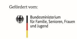 Logo: Bundesministerium für Familie, Senioren, Frauen und Jugend