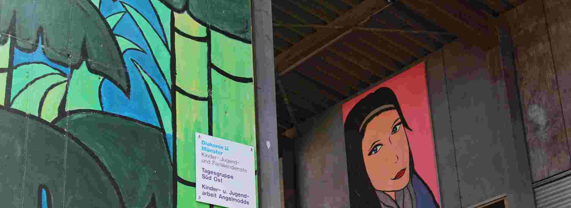 Außenansicht Jugendzentrum MOBILE