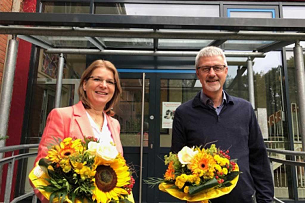 Foto: Marion Kahn mit Harald Luft