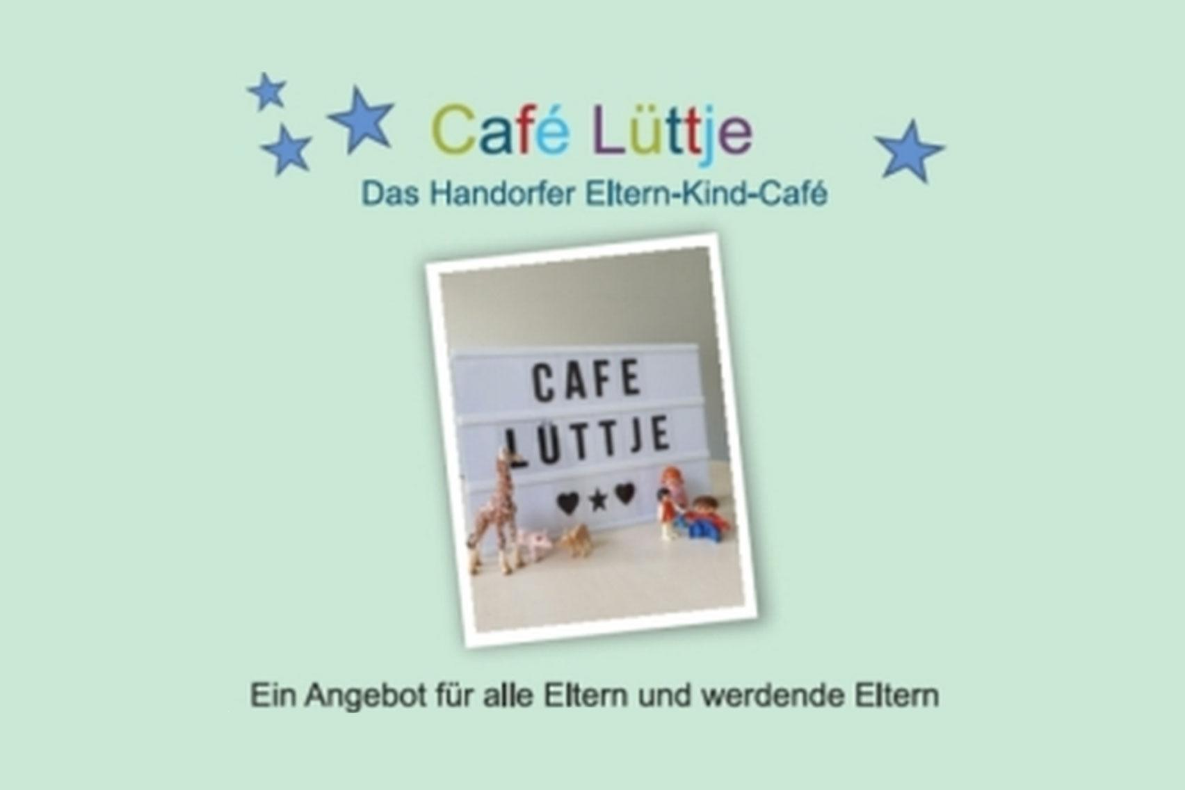 Plakat Café Lüttje