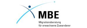 Logo Migrationsberatung für Erwachsene (MBE)