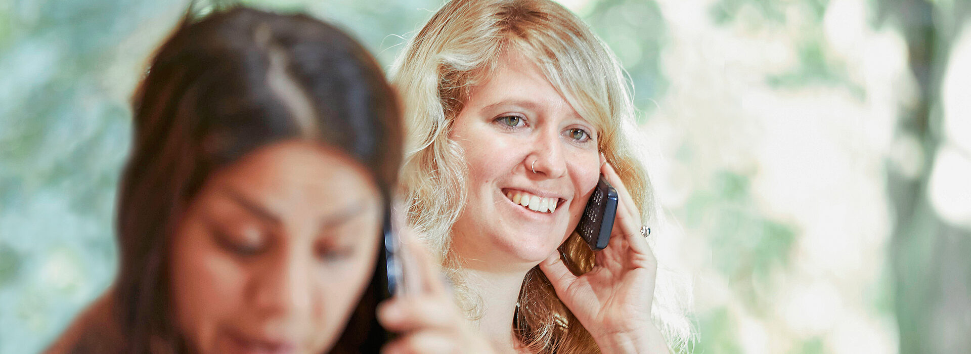 Foto: Telefonische Beratung - direkt verbunden