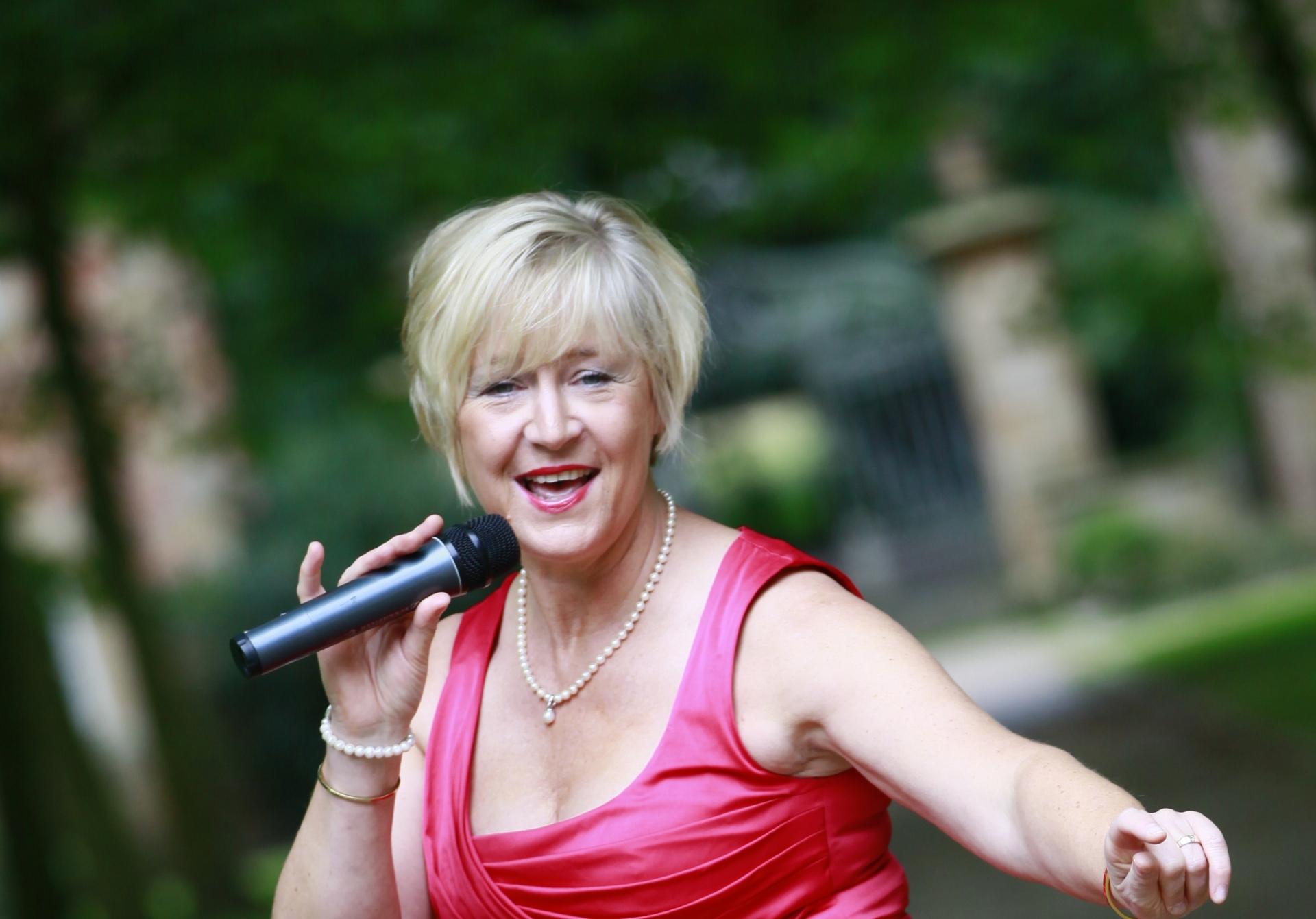 Foto: Die Sängerin Susann Gesang