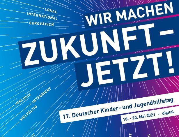 Plakat 17. DJHT, Deutscher Kinder- und Jugendhilfetag