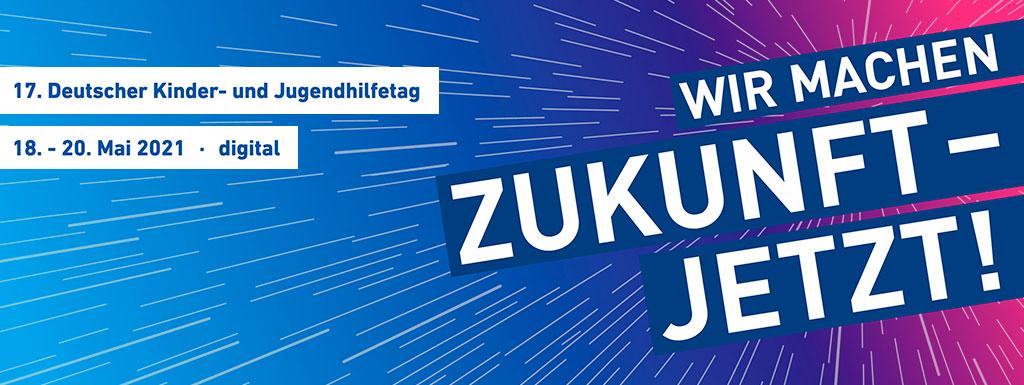 Banner: Deutscher Kinder- und Jugendhilfetag 2021