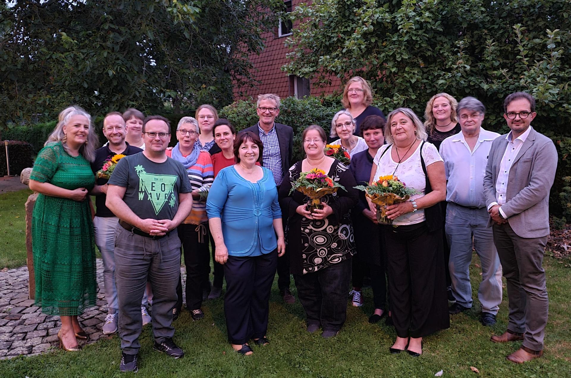 Foto: Mitarbeitende aus dem Martin-Luther-Haus wurden geehrt